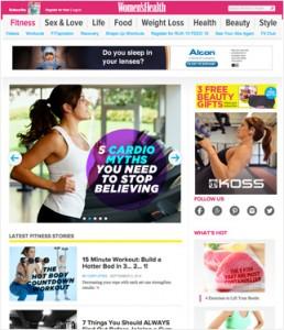 Digital marketing through strategic ad placement.
