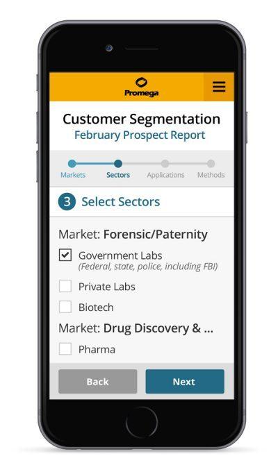 Promega Web App
