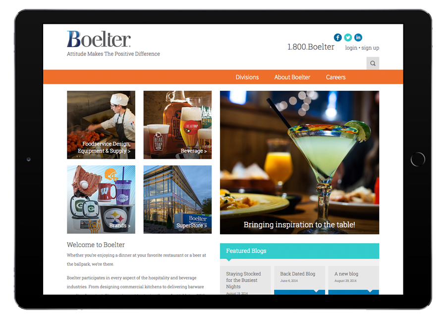 Boelter Companies Tablet