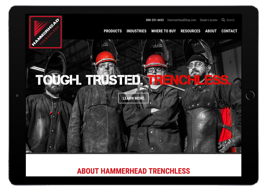 HammerHead Trenchless Tablet