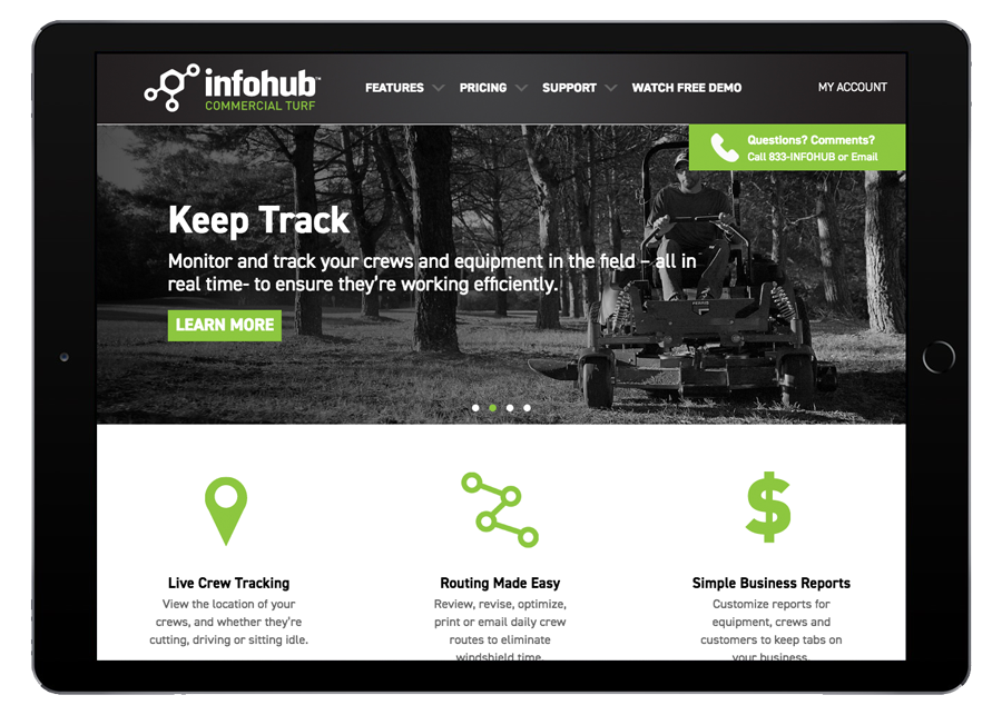 InfoHub by Briggs & Stratton Tablet