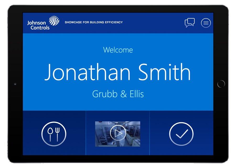 Johnson Controls Tablet
