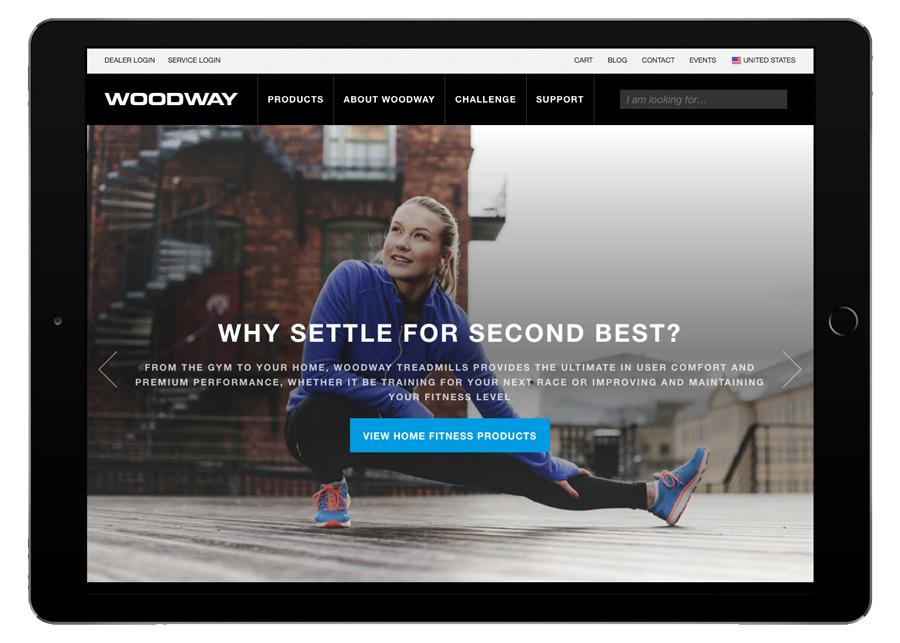 Woodway Tablet