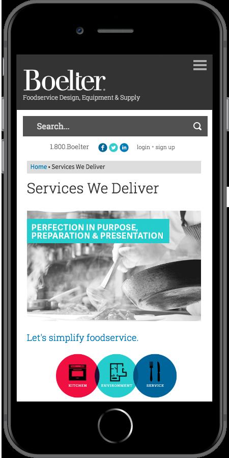 Boelter Companies Services Mobile
