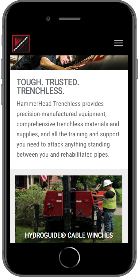 HammerHead Trenchless Products Mobile