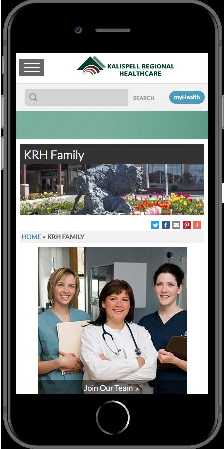 Kalispell Regional Healthcare KRH Family Mobile