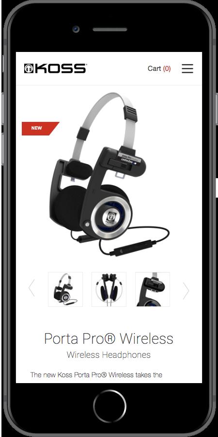 Koss Headphones Product iPhone
