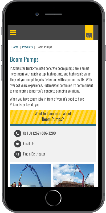 Putzmeister Pumps Mobile