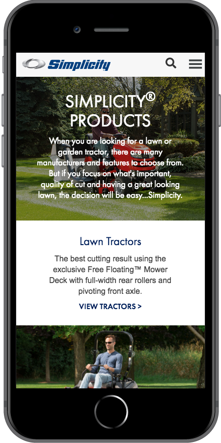 Simplicity Products Mobile
