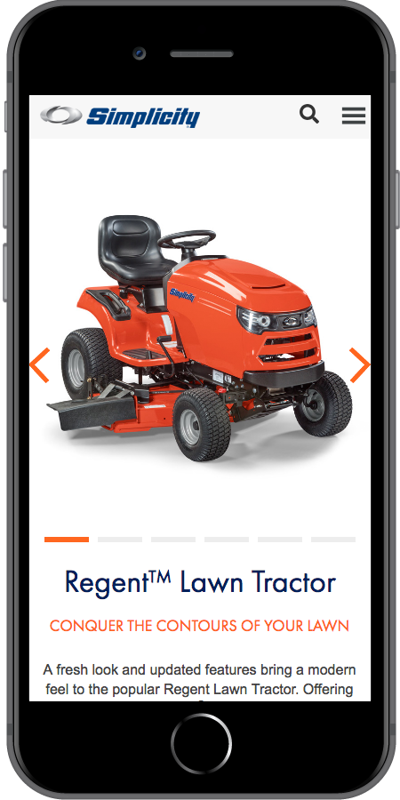Simplicity Tractor Mobile