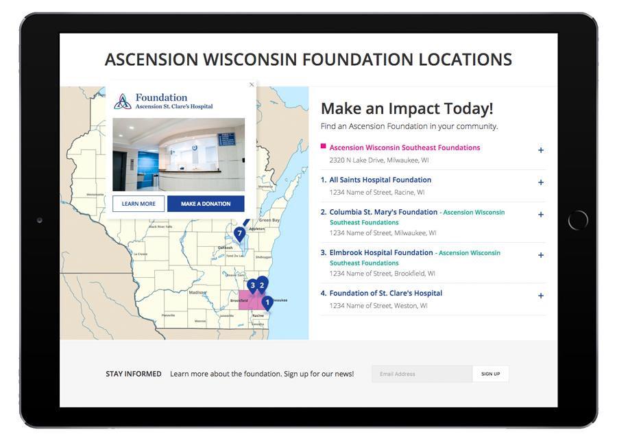 Ascension Foundation Tablet